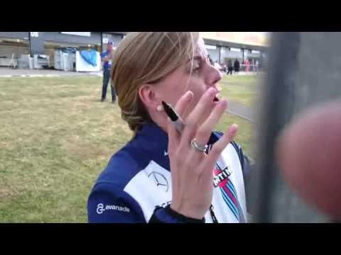 Meeting Susie Wolff at Silverstone!
