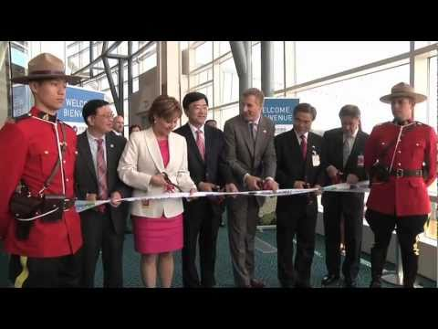 Canada welcomes China Southern Airlines inaugural flight