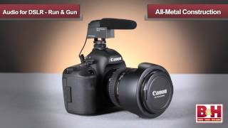Audio for DSLR Part 1 - Run & Gun