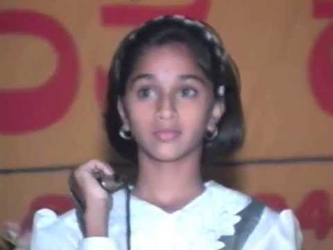 Yava Mohana Sung By Shruthi Ramesh At Anantha Habba 1996 video
