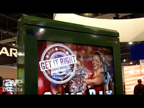 DSE 2014: Peerless-AV Introduces Its Outdoor Portrait Kiosk With Heating and Air Conditioning