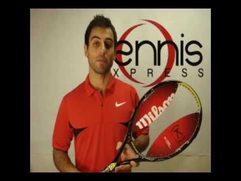 テニス Express ラケット Review - Wilson K Pro Open (Feliciano ロペス ラケット)