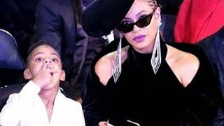 Download Lagu Beyonce is Blue Ivy's Personal Snack Assistant for the 2018 Grammys 😂 Gratis STAFABAND