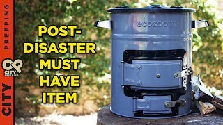Top 5 reasons you should get a rocket stove now (ecozoom versa review)