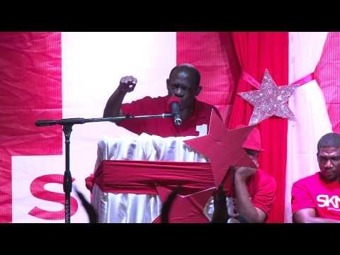 Rally on Market Street: Denzil Douglas