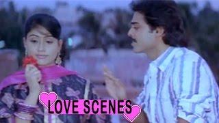Venkatesh - Vijayasanthi Back to Back Love Scenes - Sillymonks Tollywood