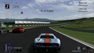 Gran Turismo 4 - Ford GT LM Race Car HD PS2 Gameplay