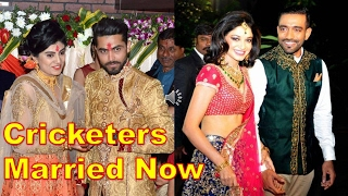 Top Indian Cricketers got married in 2016