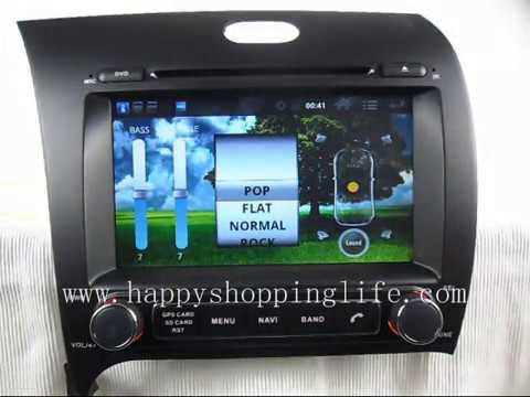 Kia Forte Android DVD Player GPS. 2013 Kia Forte Android DVD Navi Wifi 3G