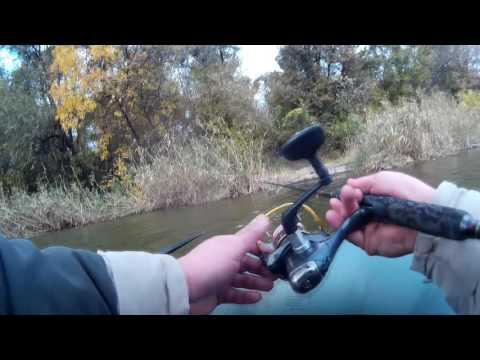 рыбалка на воблер для новичков видео