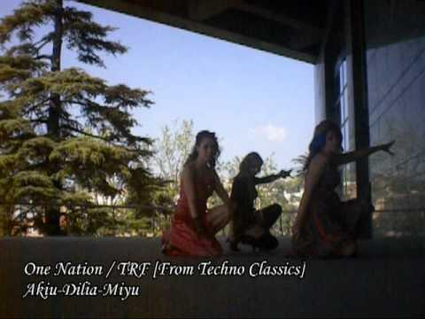 One nation / TRF - Techpara [テクパラ] Las bailarinas de los vientos