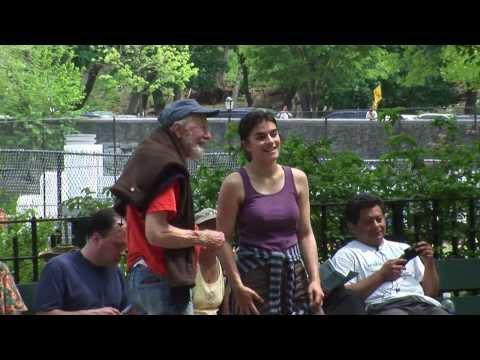Rebel Pete Seeger in Inwood Hill Park