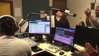 Video Kym Franklin Live on soul 106.3 (