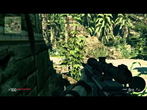 Sniper Ghost Warrior short gameplay (HUN)