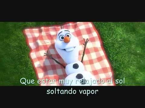 En Verano - Frozen (con letra)