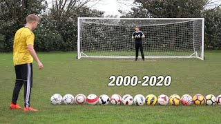 Scoring A Goal With Every Premier League Football From 2000-2020