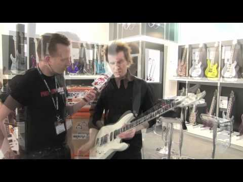 Musikmesse '12 - Caparison Guitars Dellinger-CA VW Christopher Amott Signature Demo