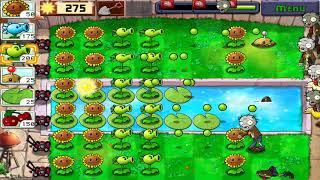 Búp bê zombie đại chiến với rau củ quả