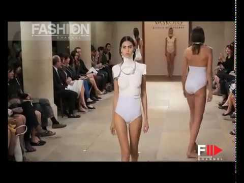 vaskolg Bijoux Sculptures Paris Haute Couture Autumn Winter 2014 Full Show By Fashion Channel video