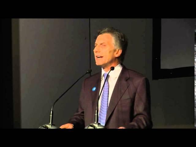 Discurso Mauricio Macri en la Noche de #Conciencia2014