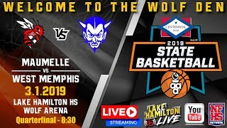 Maumelle vs West Memphis | 5A Boys State Basketball | March 1, 2019