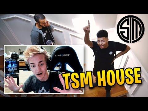 Ninja Reacts to Myth's NEW TSM Team House!   Fortnite Best Moments #56