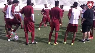 عودة فريق نادي الفيصلي سعودي من معسكره بالدمام 2014-11-22