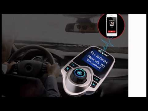 Ecandy Universal Wireless Bluetooth FM Transmitter Modulator Radio Adapter Car Kit