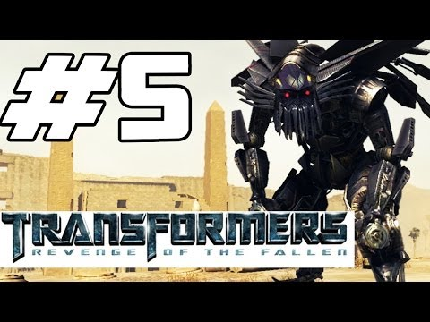 Transformers: Revenge of the Fallen Walkthrough Part 5 - Jetfire Revealed