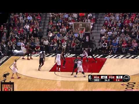 Miami Heat vs Portland Trail Blazers | January 8, 2015 | NBA 2014-15 Season