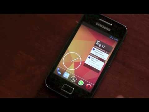 Samsung Galaxy Ace - Jellybean 4.2.2 ROM + Overclock