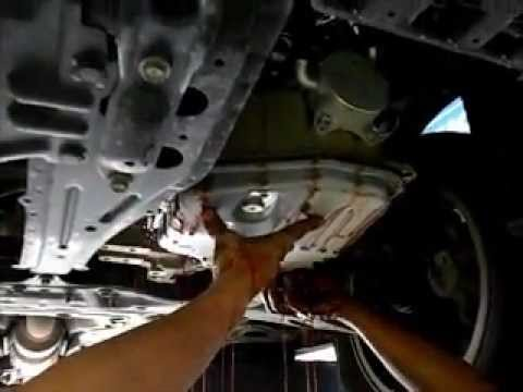 Toyota Wish Change CVT Auto Transmission Fluid - YouTube