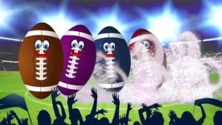 Super Bowl Footbal Finger Family Song