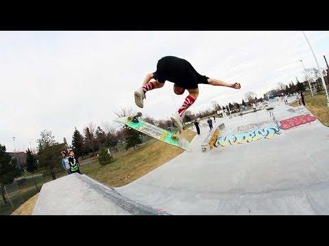 Ethernal Skate Films / Julien Gagnon Skateboarding @ Père-Marquette Skatepark (Rosemont / Montreal)