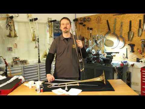 Blasinstrumenten Pflegeanleitung : Posaune