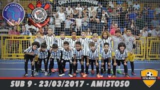 Amistoso - São Caetano Futsal x Corinthians sub 9 -23/03/2017
