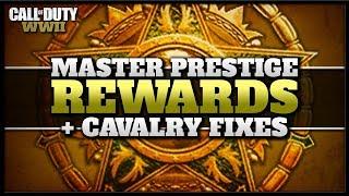 Master Prestige Reward Update + Cavalry Division Fixes in CoD WW2