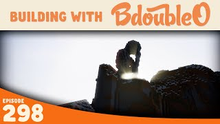 Minecraft Building w/ BdoubleO :: Statue Building :: ep 298