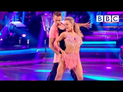 http://www.bbc.co.uk/strictly Ashley Taylor Dawson and Ola Jordan dance the Salsa to 'Congo'.