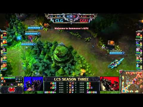 CLG vs GGU - LCS 2013 NA Spring W1D1 (English)