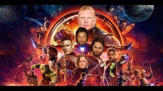 WWE IN AVENGERS INFINITY WAR SPOOF - MOVIE TRAILER SPOOF - Robert Downey Jr. - ROMAN REIGNS