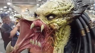 SDCC 2016 sideshow collectibles predator/terminator