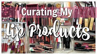 DECLUTTER | Curating My LIP Collection