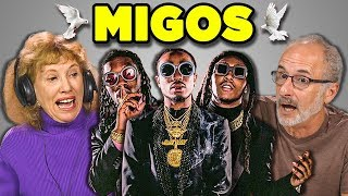ELDERS REACT TO MIGOS (Bad and Boujee, Stir Fry)