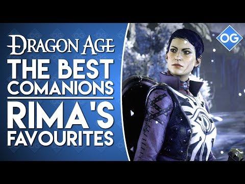 Misc Computer Games - Dragon Age Inquisition - Companions
