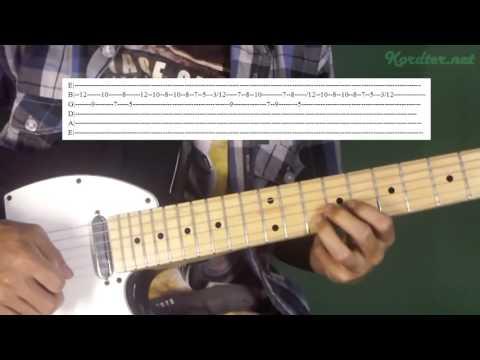 Peterpan Di Belakangku Melody Lesson (With Tab)