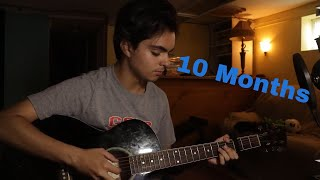 My 1 Year Guitar Progress (Through Online Lessons)