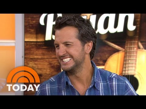 Luke Bryan On Touring With His Family: 'We're All Blessed' | TODAY