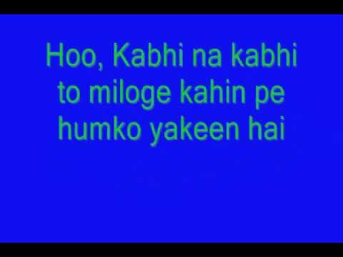 shaapit - Kabhi_Na_Kabhi_To_Miloge - LYRICS.wmv