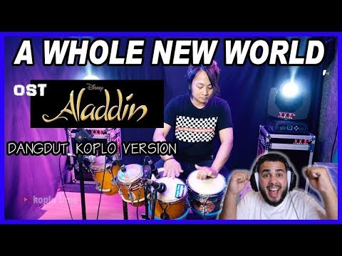 Download A Whole New World Ost Aladdin dangdut version Reaction! Mp4 baru